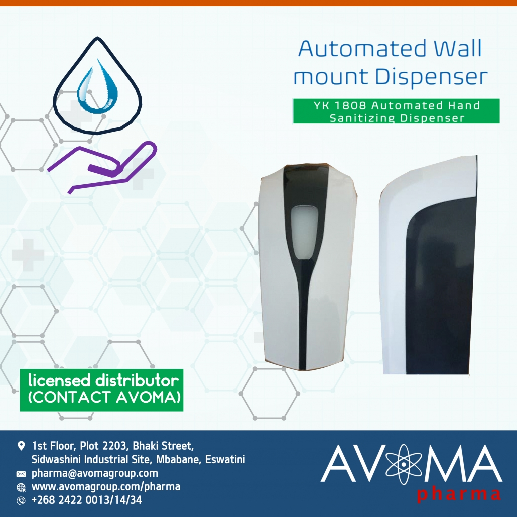 Automated Wall Mount Dispenser | AVOMA PHARMA