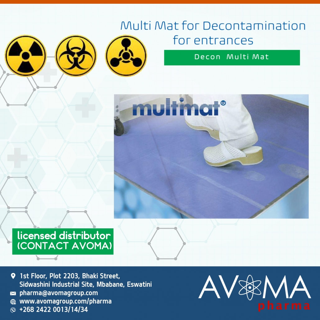 Multimart Decontamination for entrances | Avoma Pharma