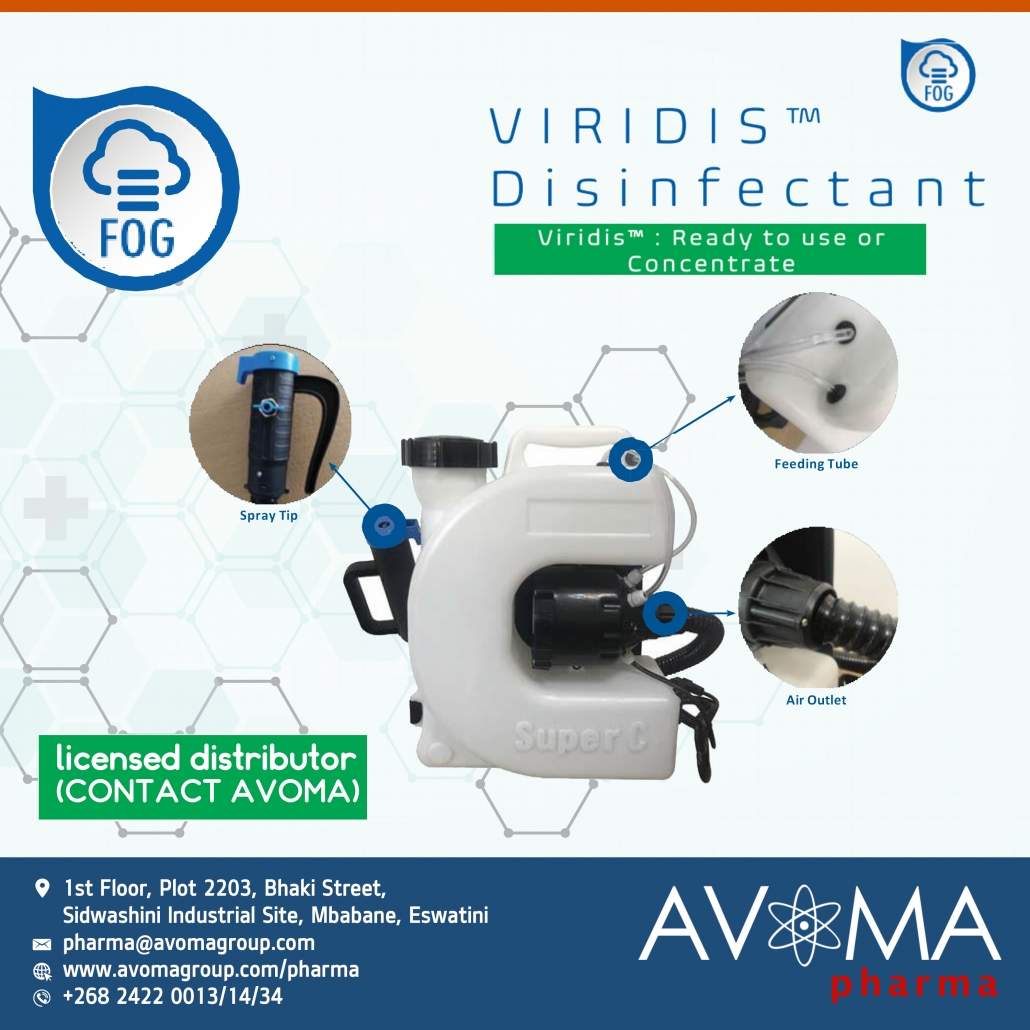 Virdis Ready to use or Concentrate | AVOMA PHARMA