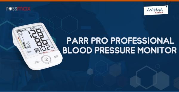 Avoma PARR PRO Professional Blood Pressure Monitor | Rossmax